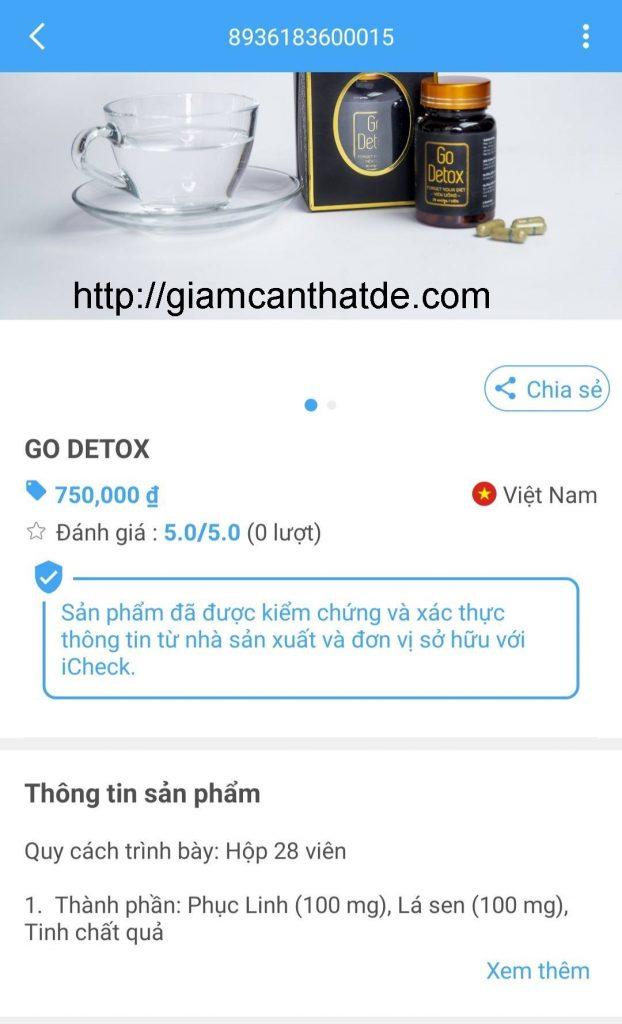 Cach kiem tra hang chinh hang vien uong giam can go detox 3